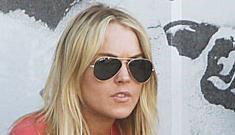 "Lindsay Lohan takes ""girlfriend's"" last name; yells at Ashley Olsen"