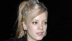 Lily Allen's rough year results in weight re-gain
