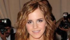 Emma Watson's super-short pixie cut: adorable or copying Carey Mulligan?