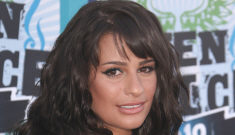 Lea Michele exhibits her dramatic weight loss at Teen Choice Awards