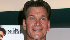 Patrick Swayze gets his affairs in order