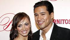Mario Lopez and Karina Smirnoff  may have broken up, but Karina denies it