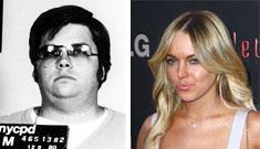 John Lennon's killer  Mark David Chapman now obsessed w/ Lindsay Lohan