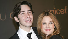 Drew Barrymore and Justin Long asked about a summer wedding