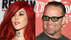 Kat Von D confirms she's dating Jesse James; People: they stayed in same room