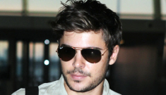 Zac Efron has a beard (no, a real one, not Vanessa Hudgens)