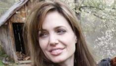 Angelina Jolie takes twins to Sarajevo, announces war-torn love-story film