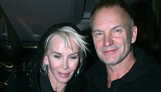 Is Sting being stingy with his charity?