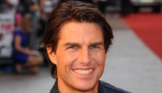 """Tom Cruise works out three hours a day, is """"considering"""" Botox & fillers"""