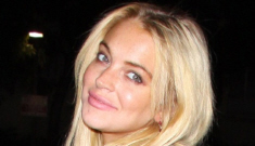 Lindsay Lohan's first weekend out: crack shenanigan free? (update: no)