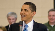Tom Hanks endorses Barack Obama