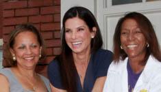 Sandra Bullock opens New Orleans school health clinic