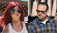 Jesse James and Kat Von D get serious as Kat flies to TX for weekend