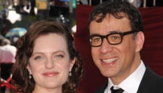 Is Elizabeth Moss & Fred Armisen's split about Xenu or Abby Elliott?