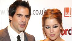 Eli Roth & Peaches Geldof celebrate their six month anniversary, shockingly