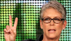 Jamie Lee Curtis loves it   when people tell her that Activia helps them poop