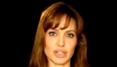 Angelina Jolie does a PSA for Pakistan's devastating floods