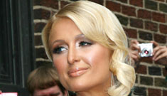 David Letterman gives Paris Hilton a hard time again, makes fun of her products