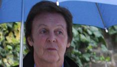 Paul McCartney had hybrid car flown to him from Japan