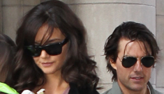"Tom Cruise & Katie Holmes are renegotiating their ""who wears the heels"" policy"