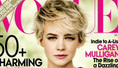 Carey Mulligan is an adorably strange choice for Vogue's October cover