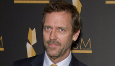 Hugh Laurie said prop person once warned him about all the fake pills