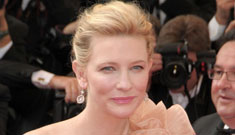 Opening festival at Cannes, including Cate Blanchett & Natalie Portman