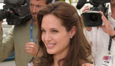Angelina Jolie is due to have her twins on August 19, blabs Dustin Hoffman