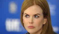 Nicole Kidman's crazy Botox face is killing me