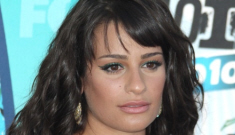 Lea Michele considers posing for Playboy to show off her thin, vegan body