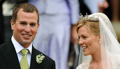 Peter Phillips (Harry & Will's cousin) marries Autumn Kelly at Windsor Castle