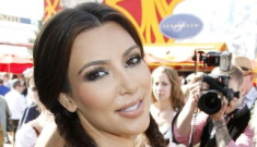 Kim Kardashian is in   Germany, wearing a busty dirndl at Oktoberfest