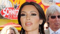 Kim Kardashian admits she doesn't need botox, but she's just shilling something
