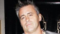 "Matt LeBlanc rages at douche reporter for calling him ""Joey"""