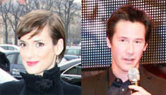 Are Winona Ryder and Keanu Reeves having an on-set romance?