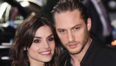 Tom Hardy is engaged, totally off the market for men and women (sob)