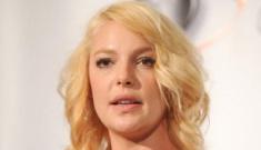 Katherine Heigl returns to blonde: weird shade or totally cute?