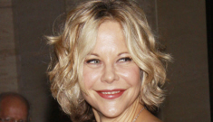 Meg Ryan is back to jacking her face with fillers, right?