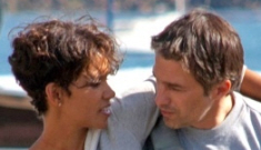 Halle Berry flies back to Paris for her lover Olivier Martinez