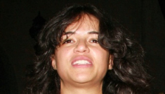 Michelle Rodriguez happily posed with a Swastika, what the hell?