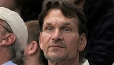 Patrick Swayze goes to a Lakers Game
