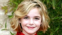 Kiernan Shipka (Mad Men's Sally Draper) is 10 years old   & completely wonderful