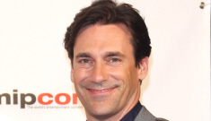 Jon Hamm takes his handsome self to France