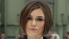 Keira Knightley's new bob haircut: totally adorable or too Posh Beckham?