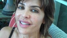 Lisa Rinna had her horrible lips repaired