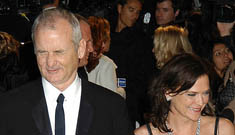 Bill Murray's wife files for divorce, claims he's an alcoholic & abusive