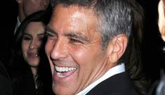 George Clooney got new teeth