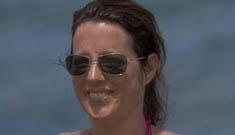 Sarah McLachlan in a bikini