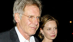 Calista Flockhart and Harrison Ford aren't getting married