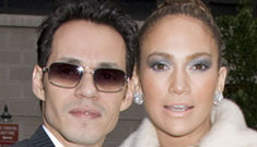 Marc Anthony says he & J.Lo don't have nannies, butlers or nursery bling